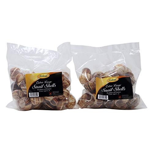Used, Roland Large Snail Shells, 72 count, 2 pack for sale  Delivered anywhere in USA
