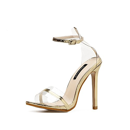 RUGAI Golden UE high sandals and Ladies' heels C0xqrC