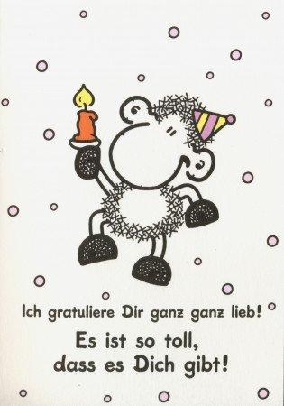 Sheepworld Grusskarte Geburtstags Uberraschung Amazon De