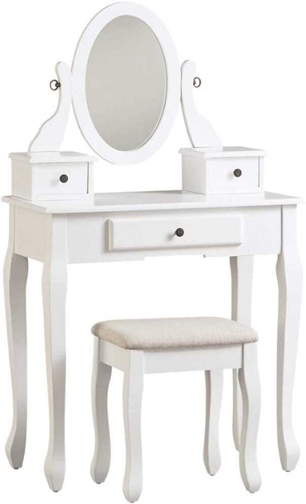 Signature Design by Ashley Kaslyn Vanity Set, White