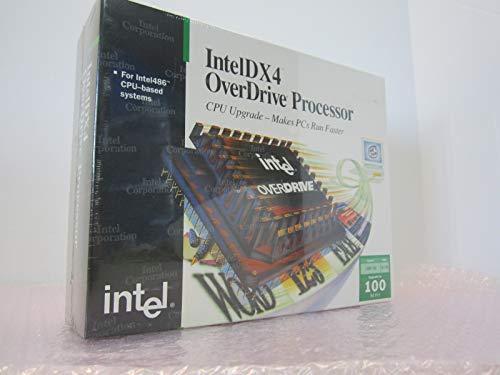 - INTEL - Intel Overdrive Processor 486 100 Mhz