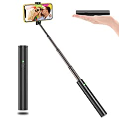 VPROOF Compact Design Bluetooth Selfie Stick Makes Your Life Colorful.-- Enjoy Your Life, Enjoy Your Selfie..Quick Bluetooth Connection Using mobile phone wireless Bluetooth connection, you can easily control the phone camera with one-button,...
