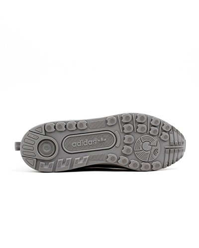 adidas Originals ZX Flux ADV Asymmetrical Hombres Zapatilla Gris S79052 gris