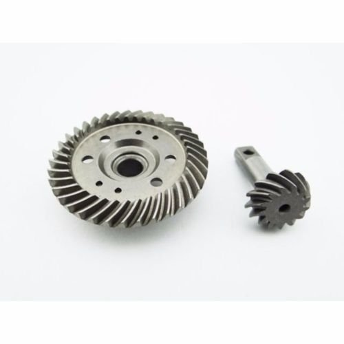 Raidenracing Harden Steel Helical Spiral Differential Diff Ring/Pinion Gear for Traxxax 1/10 Summit E-REVO 3.3