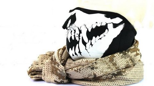 Skull Skeleton Face Mask Tooth Swat Navy Seal Cloth Flexible Bike Motorcycle Cosplay