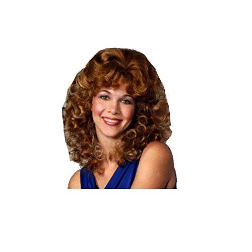 [001/38 (Brown) Dolly Wig] (Dolly Parton Wig)