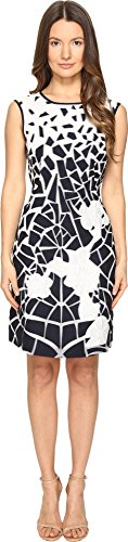 Alberta Ferretti Women's Sleeveless Dress Blue/White (Alberta Ferretti Sleeveless)