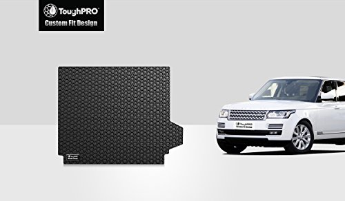Sport Trunk Mat - ToughPRO Cargo/Trunk Mat Compatible with Land Rover Range Rover Sport - All Weather - Heavy Duty - (Made in USA) - Black Rubber - 2014, 2015, 2016, 2017, 2018, 2019