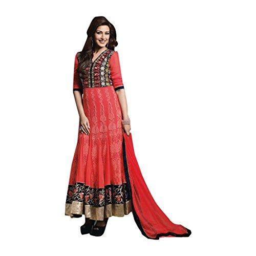 Anarkali Da Indiano Per Tradizionale Sposa Personalizzato Misurare Donne 2735 Di Salwar Festa Etnico Kameez Emporium Matrimonio Abito Indossare BgnZ41x