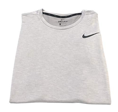 Nike Men's Breathe Muscle Tank Pure Platinum Large (Nike Muscle T Shirts For Men)