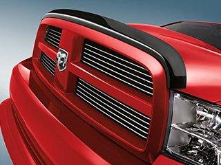 2009 TO 2012 DODGE RAM 1500 BUG SHIELD FRONT AIR DEFLECTOR MOPAR TINTED MOPAR (Deflector Air Bug)