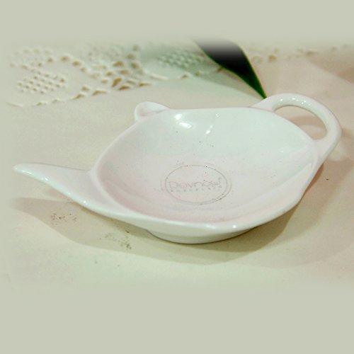 Devnow Ceramics Carino Tea Bag Holder 11.5cm, Set of 12