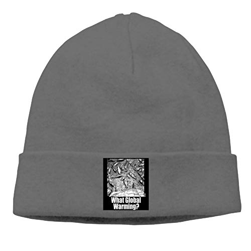 What Global Warming Knitted Cap Limited Edition Warm Hip-Hop for Men and Women