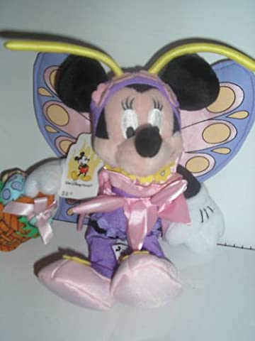 Disney Bean Bag Plush - EASTER MINNIE (Mickey Mouse) (9 inch) - Bean Bag Plush Minnie Mouse