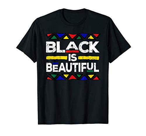 Black is Beautiful Black History Month Panthers Gift T-Shirt ()