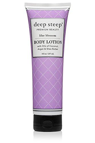 Deep Steep Body Lotion, Lilac Blossom, 8 Ounce