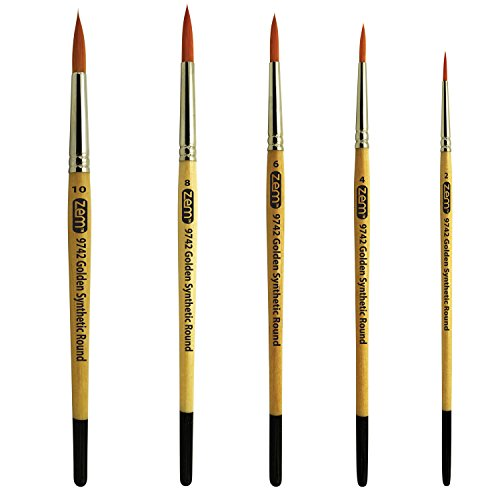 Round Paintbrushes
