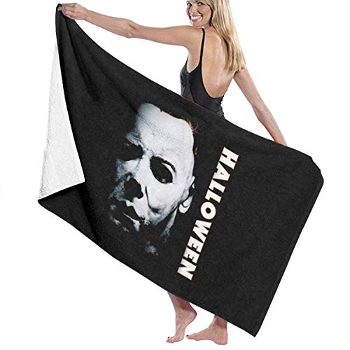 Angel kuy Halloween Michael Myers tee Print Design Microfiber Beach Towel -