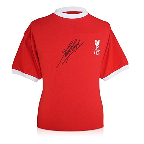 Kevin Keegan Signed Liverpool Jersey