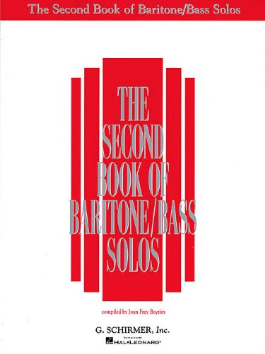 (The Second Book of Baritone/Bass Solos )