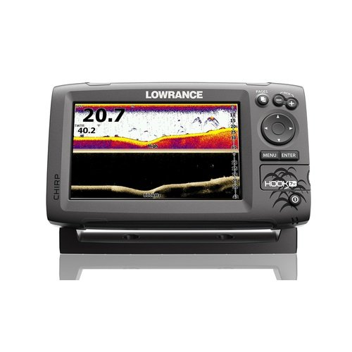 Lowrance Hook-7X Sonar Mid/High/Downscan Fishfinder Fish Finders And Other Electronics Pro-Motion Distributing - Direct