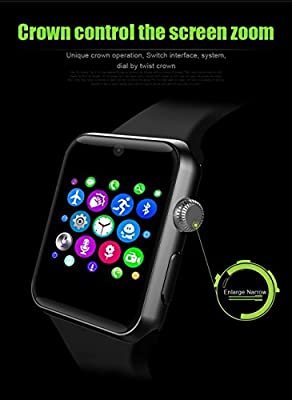 Lemfo LF07 Bluetooth SmartWatch 2.5D ARC HD Screen Support SIM Card Wearable Devices Smartphone Fitness Tracker For IOS Android