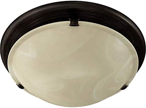 Broan 761WHA Bathroom Fan, 80 CFM for 4 Ducts w B10 light Not Included White Alabaster Glass – White