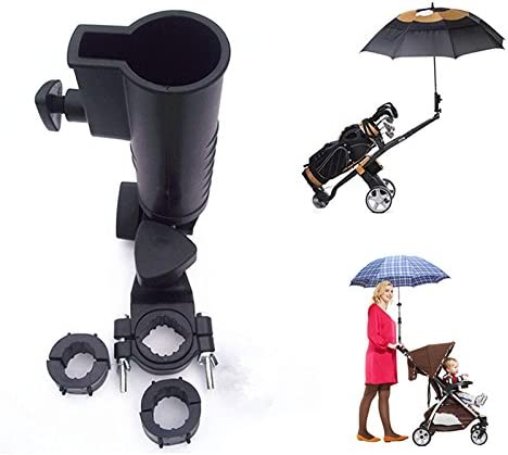 Poussette B/éb/é /Écran avec support universel schutz50/UV protection deux couleurs Voile dombrage Parasol parapluie pour poussette et sport universel Buggy