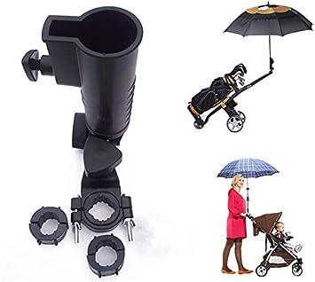 Soporte universal para paraguas, 15 mm, 25 mm, 30 mm, 38 mm, mango opcional, tamaños para carrito de golf, bicicleta, cochecito de bebé