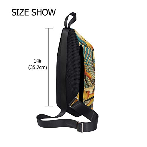 Small Body Ancient Egyptian amp; Shoulder Bennigiry Cross Backpack Bag Chest Waterproof Men Sling Women Vintage For tvqx5pf