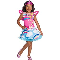 Rubie's Costume Co Barbie Dreamtopia Childrens Costume, Fairy, Small