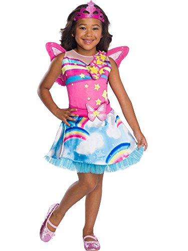 Rubie's Barbie Dreamtopia Child's Costume, Fairy, Fluffy, Large -