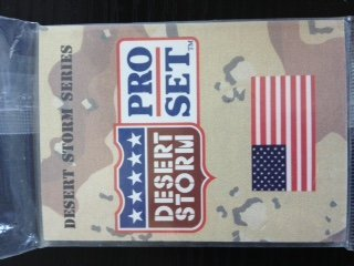 Pro Set Desert Storm Trading Cards Box (Desert Storm Game)