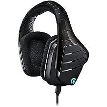 Logitech Artemis Spectrum RGB 7.1 Surround Sound Gaming Headset, Black (Certified Refurbished)