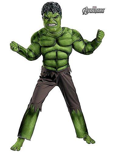 Boys Hulk Avengers Classic Muscle Costume L (Child Classic The Hulk Costume)