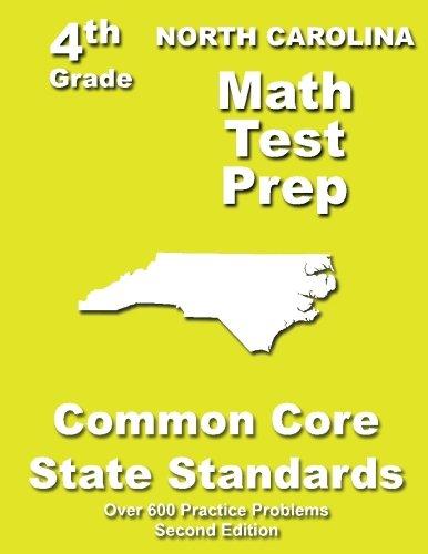 North Carolina 4th Grade Math Test Prep: Common Core Learning Standards