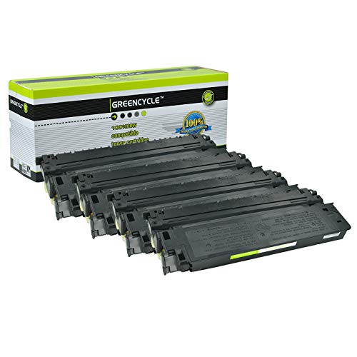 greencycle 4 PK Compatible Canon E40 Black Toner Cartridges For Pc940 Pc740 Pc430 Pc980 ()
