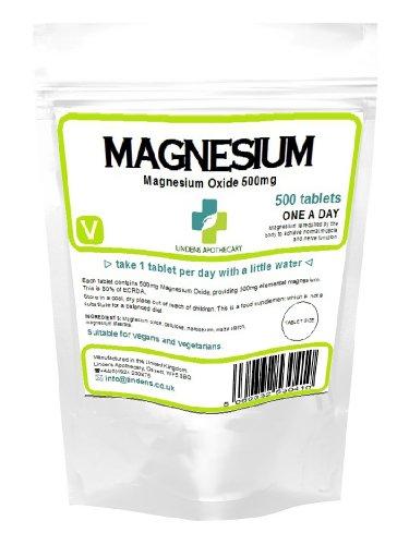 Magnesium Tabletten (500mg MgO) (500)
