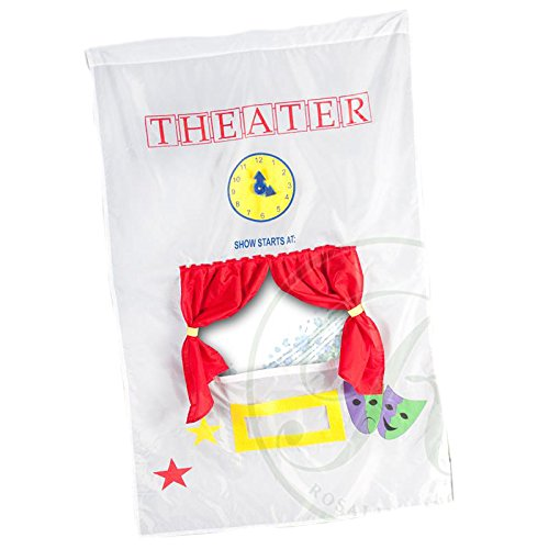 Rosalina Theater Curtain Learning Children Toy