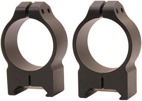 1. Warne 30mm Matte PA Rings