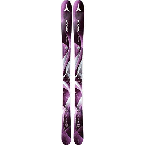 Atomic Vantage 95 C Womens Skis 2018 - 154cm Intermediate All Mountain Skis