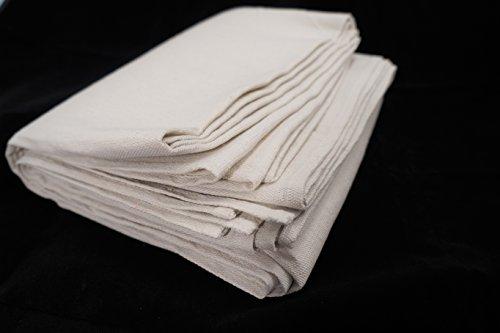 100% Cotton, Seamless, All Purpose, 8 oz. Canvas Drop Cloth, 9 Feet x 12 Feet -