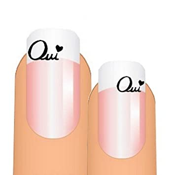 Stickers d\u0027ongles nail art OUI