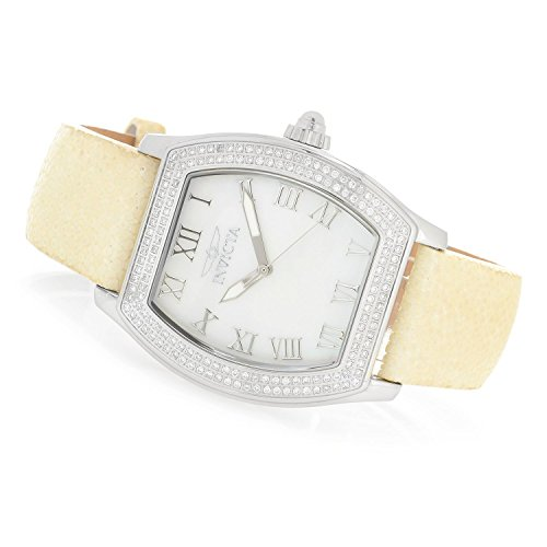 Invicta Women's Elite Diamond Collection Quartz 0.67ctw Diamond Stingray Strap Watch-22687