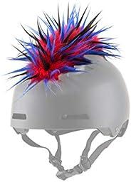 Parawild Iguana Helmet Accessories w/Sticky Hook & Loop Fastener Adhesive (Helmet not Included), Fun Helme