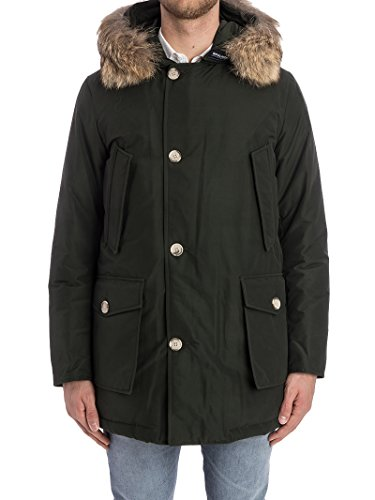 Uomo Poliestere Woolrich Verde Wocps1674cn01rsg Giacca Bvfw7fqg