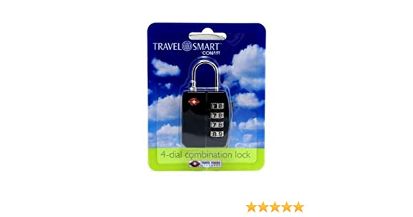 3 Pack Conair Travel Smart 3-Dial Combination Lock