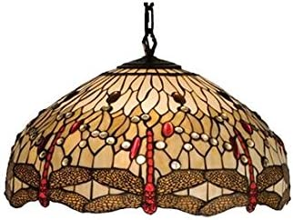 Meyda Tiffany 17544 Lighting, 22 Width, Finish Beige Flame