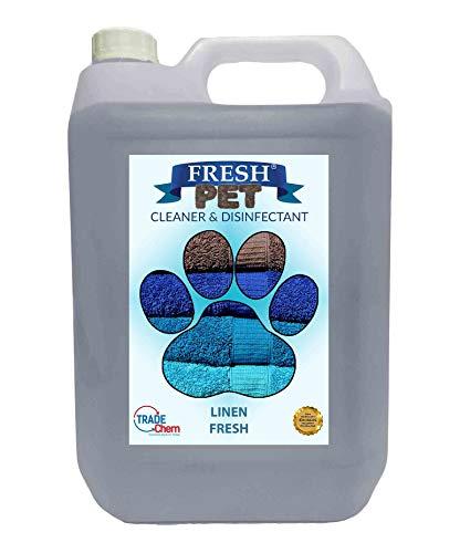 Fresh Pet Kennel / Cattery Cleaner & Disinfectant – Kills 99.99% Bacteria – Eliminates Odour – Cherry, Alpine, Lemon…