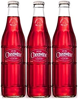 product image for Cheerwine Glass Bottles 12 oz (Pack of 3)
